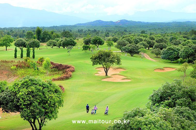 치앙마이 인타논 골프 클럽 11