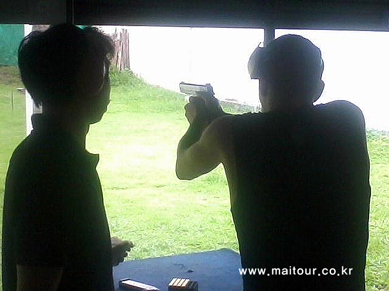 치앙마이 실탄 사격 8
