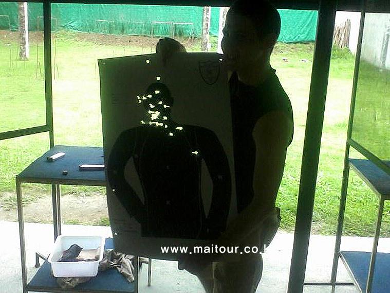 치앙마이 실탄 사격 9