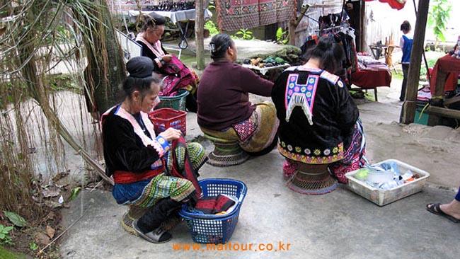 고산족 몽족마을 4